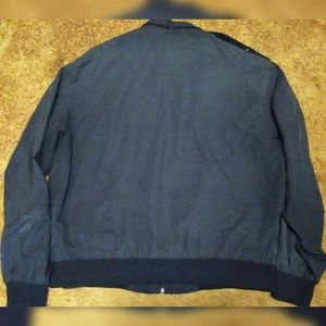Members Only Jackets & Coats - Vintage Navy Blue Member's Only Jacket Men's L